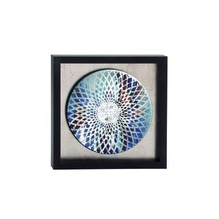 Polystyrene 31-inch Framed Mirror Art
