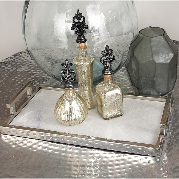 Stainless Steel Marble Serving Tray. Opens flyout.