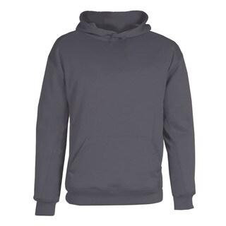 BT5 Boy's Graphite-grey Performance Fleece Hooded Sweatshirt