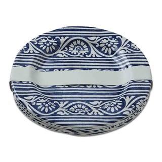 TAG Artisan Melamine Salad Plates Blue