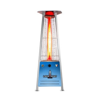 Lava Heat Italia Triangular 6-feet Commercial Natural Gas Flame Patio Heater