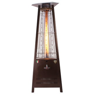 Lava Heat Italia Triangular 6-feet Commercial Propane Flame Patio Heater