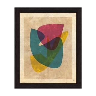 'Odd Shapes (Vintage)' Framed Graphic Wall Art