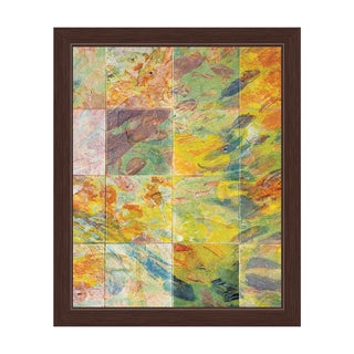 Prismatic Tiles Framed Graphic Art