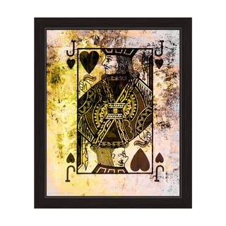 The Jack of Hearts Framed Graphic Art