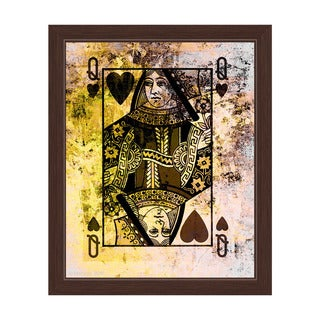 The Queen of Hearts Framed Graphic Art