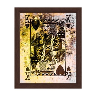 The King of Hearts Framed Graphic Art