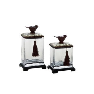 Glass Storage Containers (Set of Two)