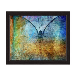 """Cellophane Butterfly"" Framed Graphic Art Print"