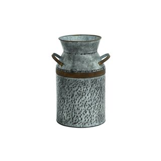 Silver Metal Storage Jars