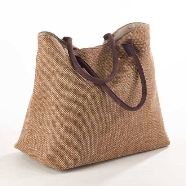 Shop Taleen Collection Classic Design Jute Hobo Bag - Free Shipping On  Orders Over  45 - Overstock.com - 12180046 a7815d01d5