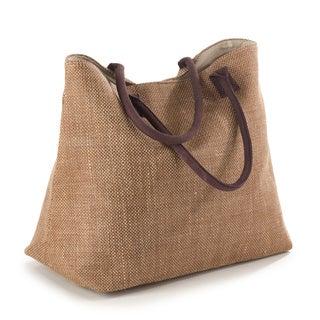 Taleen Collection Classic Design Jute Hobo Bag