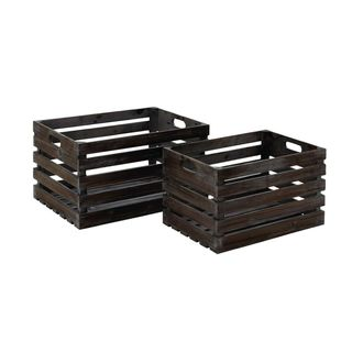 Link to Wood Wine Rack (Set of Two) Similar Items in Living Room Furniture