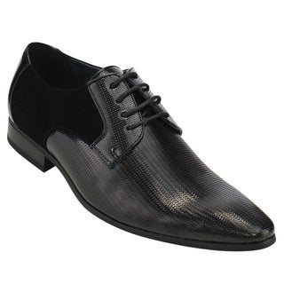 UV SIGNATURE FC82 Men's Lace Up Slip On Oxford Formal Dress Shoes