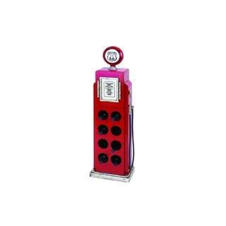 Retro Polystone Gas Pump Wine Rack