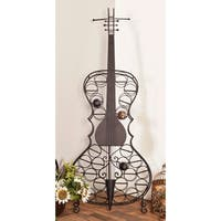 Eclectic 68 x 27 Inch Metal 26-Bottle Cello Wine Rack by Studio 350