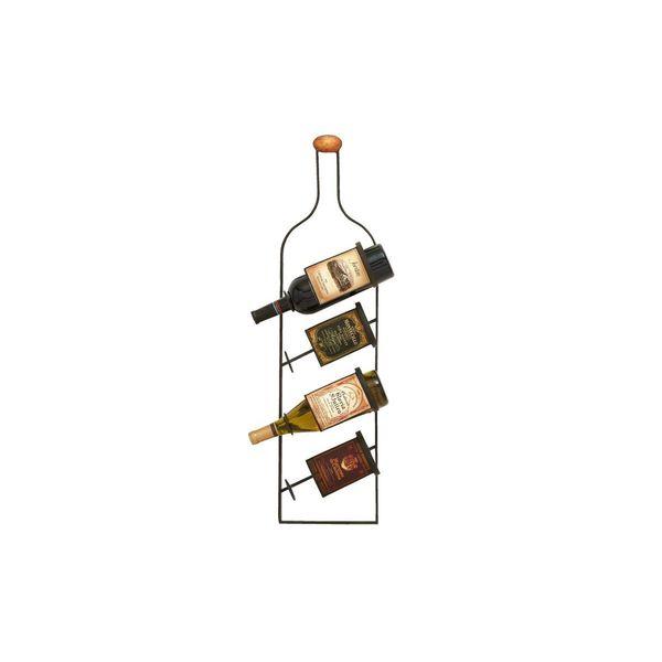 Metal Wall Wine Rack