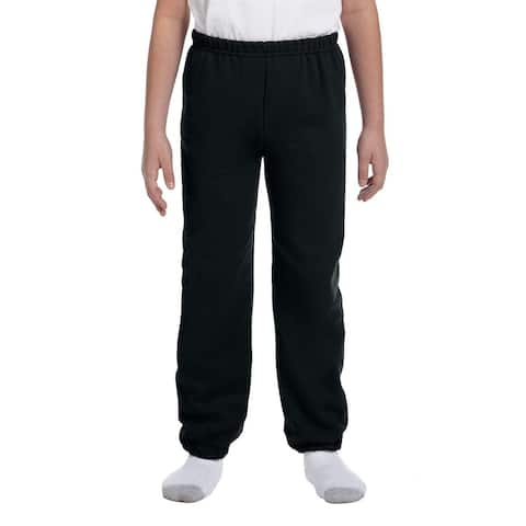 Boy's Black Heavy Blend Sweatpants