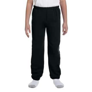 Boy's Black Heavy Blend Sweatpants|https://ak1.ostkcdn.com/images/products/12180170/P19030539.jpg?impolicy=medium