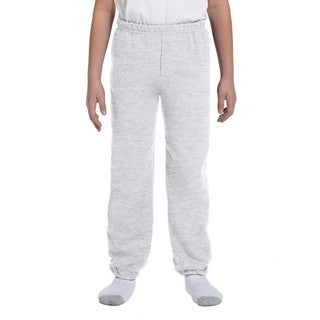 Heavy Blend Boy's Ash Sweatpants