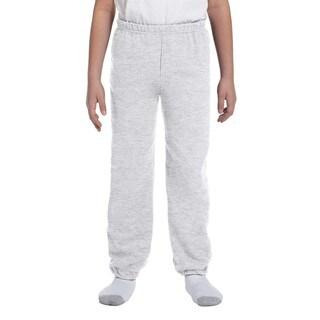 Heavy Blend Boy's Ash Sweatpants