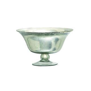 Silver Glass Serving Bowls
