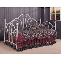 Traditional Metal White Daybed