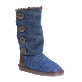 Muk Luks Women's Polyester/ Acrylic Liza Boots