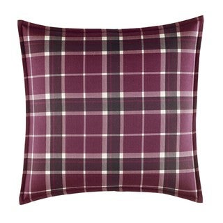 Laura Ashley Ella Plaid 16-inch Decorative Pillow