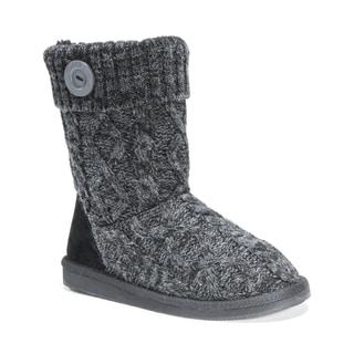 Muk Luks Women's Polyester/ Acrylic Janet Boots