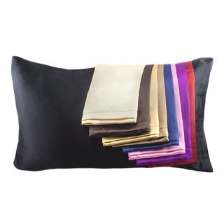 Hotel Collection Satin Pillowcase (Option: Brown)