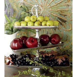 Aluminum 3-tier Fruit Stand