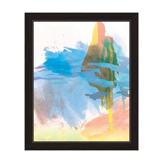"""Sky Empire"" Graphic Framed Art Print"