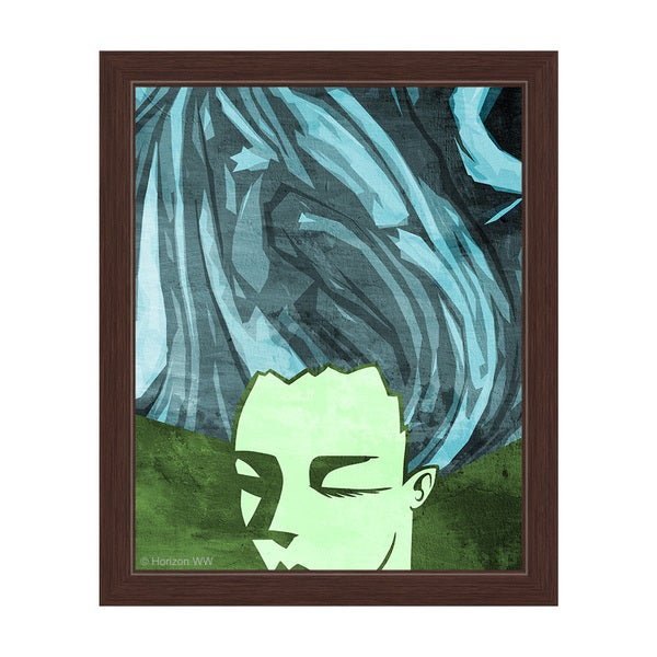 'Inward Contemplation' Framed Graphic Wall Art