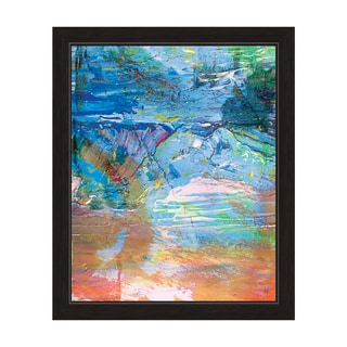 Cloudy Shore Framed Graphic Art