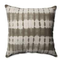 Pillow Perfect Mirage Latte 18-inch Throw Pillow