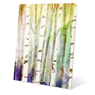 'Rainbow Thicket' Graphic Wall Art On Acrylic