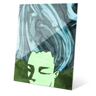 """Inward Contemplation"" Graphic Acrylic Art Print"