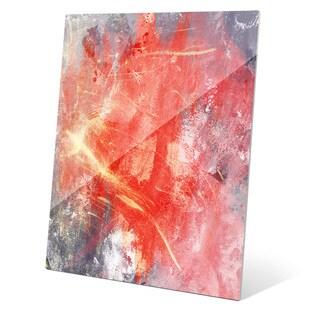 Urban Splash - Red Graphic on Glass
