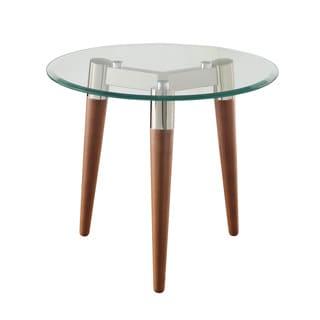 Retro Nickel End Table