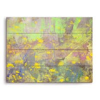 'Blossoming Spring' Graphic on Wood Wall Art