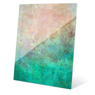 """Teal Vision"" Graphic Acrylic Art Print"