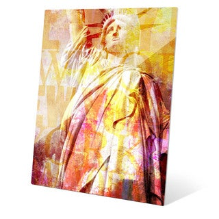 Liberty Enlightening the World Graphic on Acrylic Wall Art