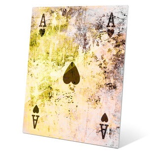 The Ace of Hearts Graphic on Acrylic Wall Art