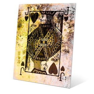 The Jack of Hearts Graphic on Metal