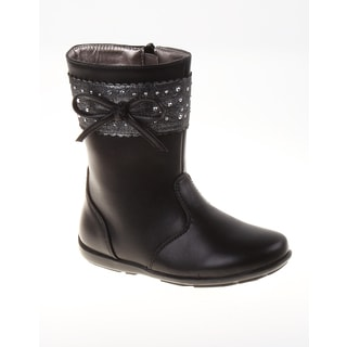 Laura Ashley Girls' Sparkle Stud Boots