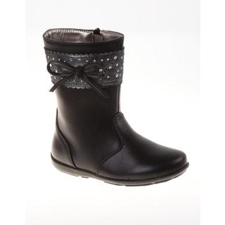 Laura Ashley Girls' Sparkle Stud Boots