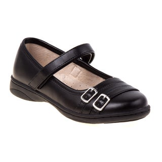 Laura Ashley Girls' Black School Shoes