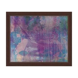 Mauve Glint Framed Graphic Art