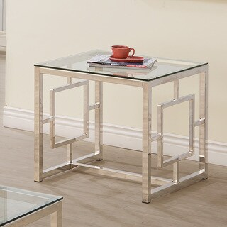 Coaster Company Home Furnishings End Table, Satin